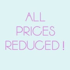 Just dropped prices on everything in my closet!